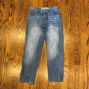 "Crazy 8 Denim ""Girlfriend"" Jeans Size 8 Excellent!"